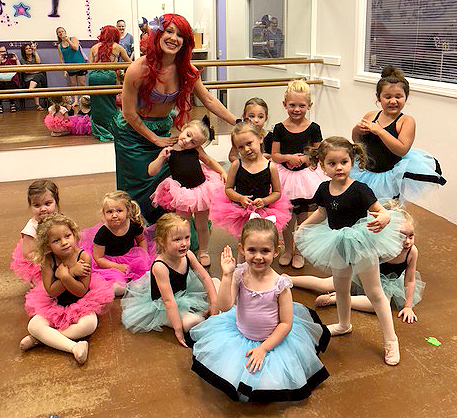 Princess Ballerina Parties at DWS