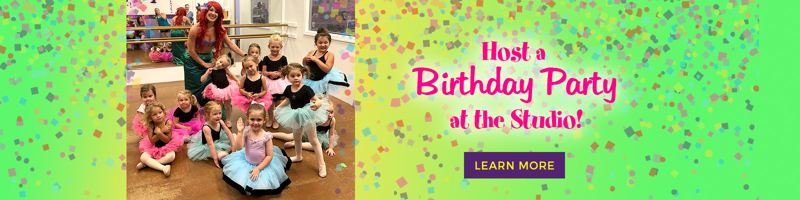 Host a Birthday Party at DWS